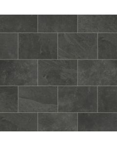 Karndean Knight Tile Black Riven Slate ST15
