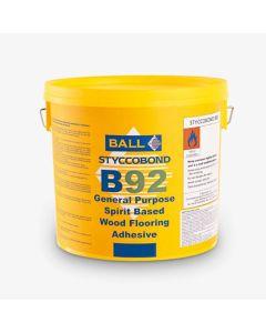 F Ball Styccobond B92 Solvent Based Wood Flooring Adhesive