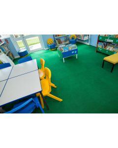 Heckmondwike Supacord Carpet Tile Green 50 X 50 cm