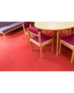 Heckmondwike Supacord Carpet Tile Red 50 X 50 cm